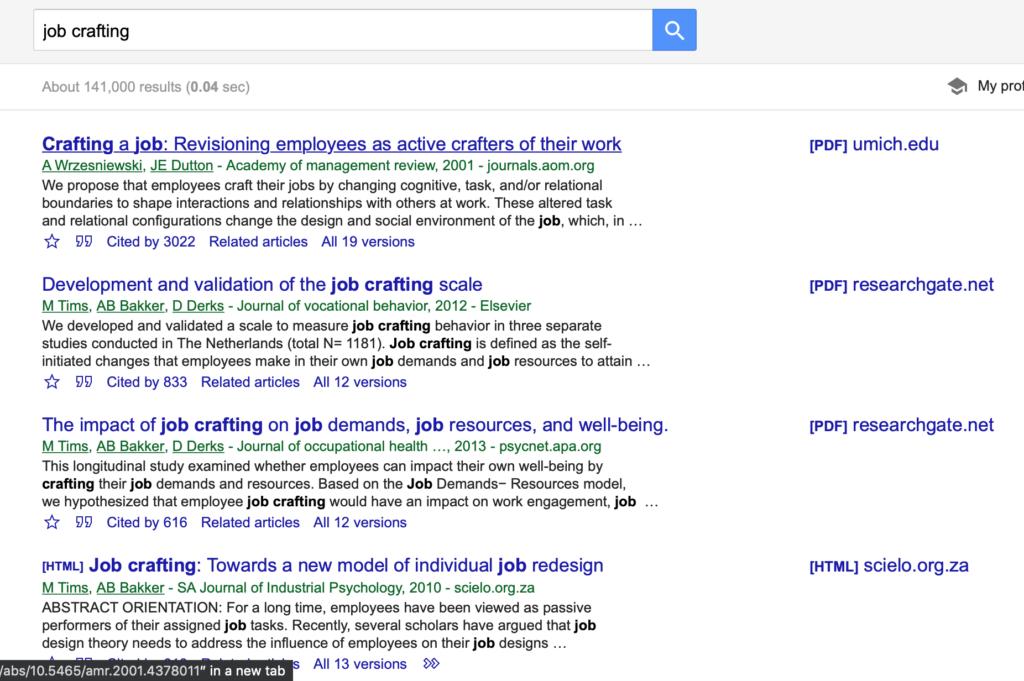 グーグルスカラーの検索結果。